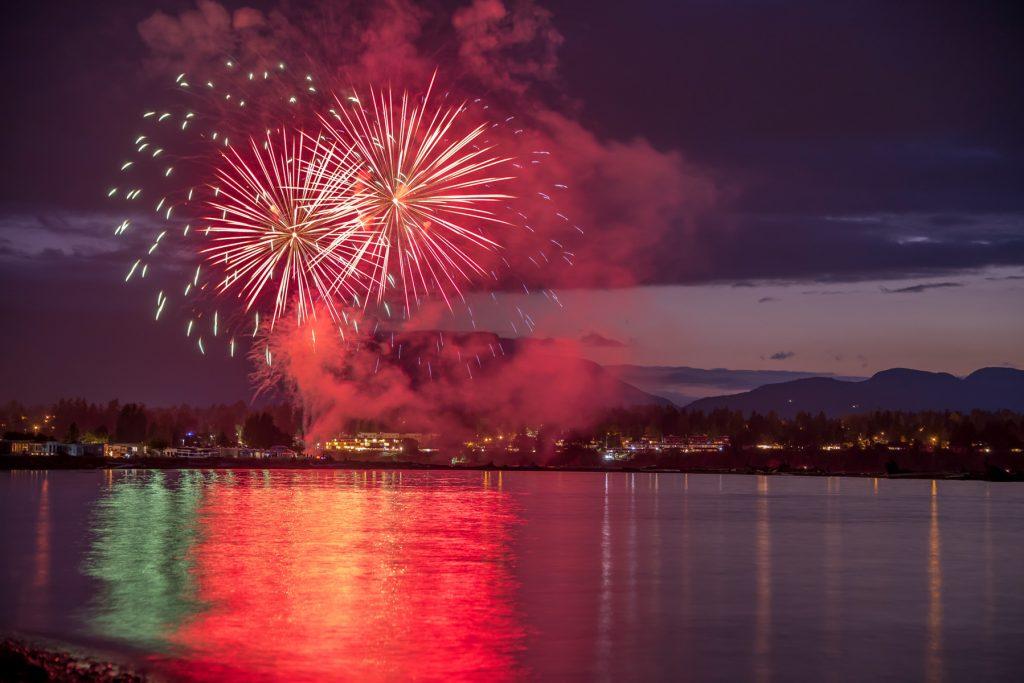 Parksville fireworks