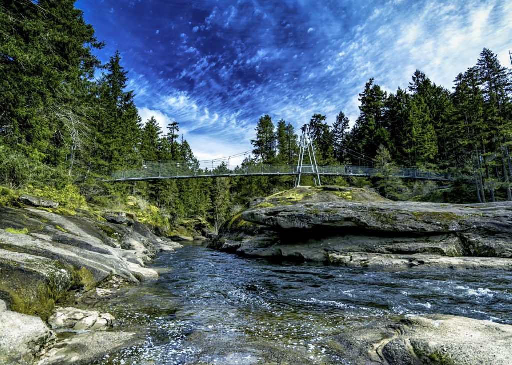 Parksville bridge