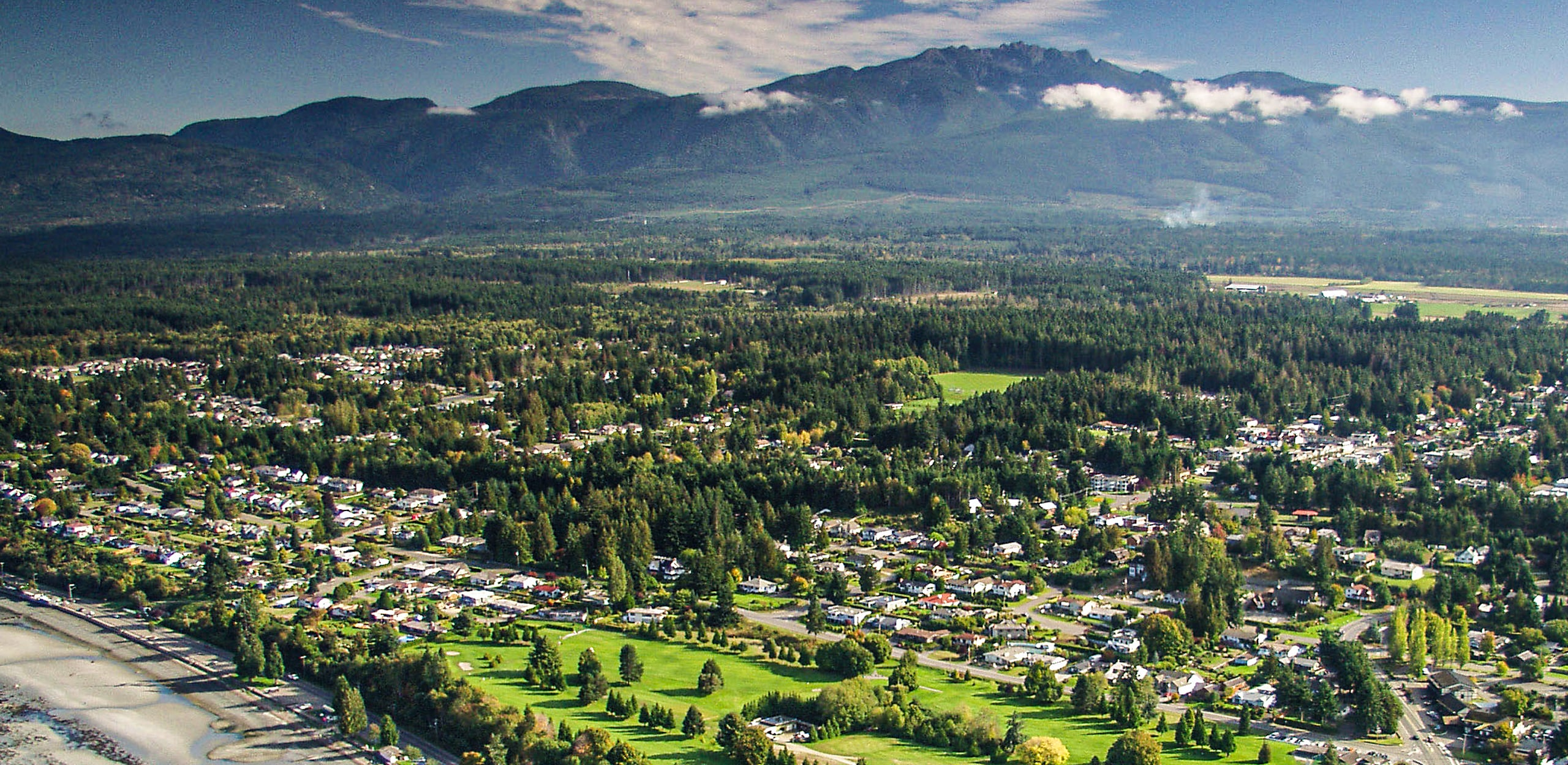 Qualicum Beach overview